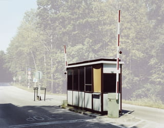 Hongarije - Slovenië, Uit de serie 'Übergang' door Josef Schulz / Pictoright.