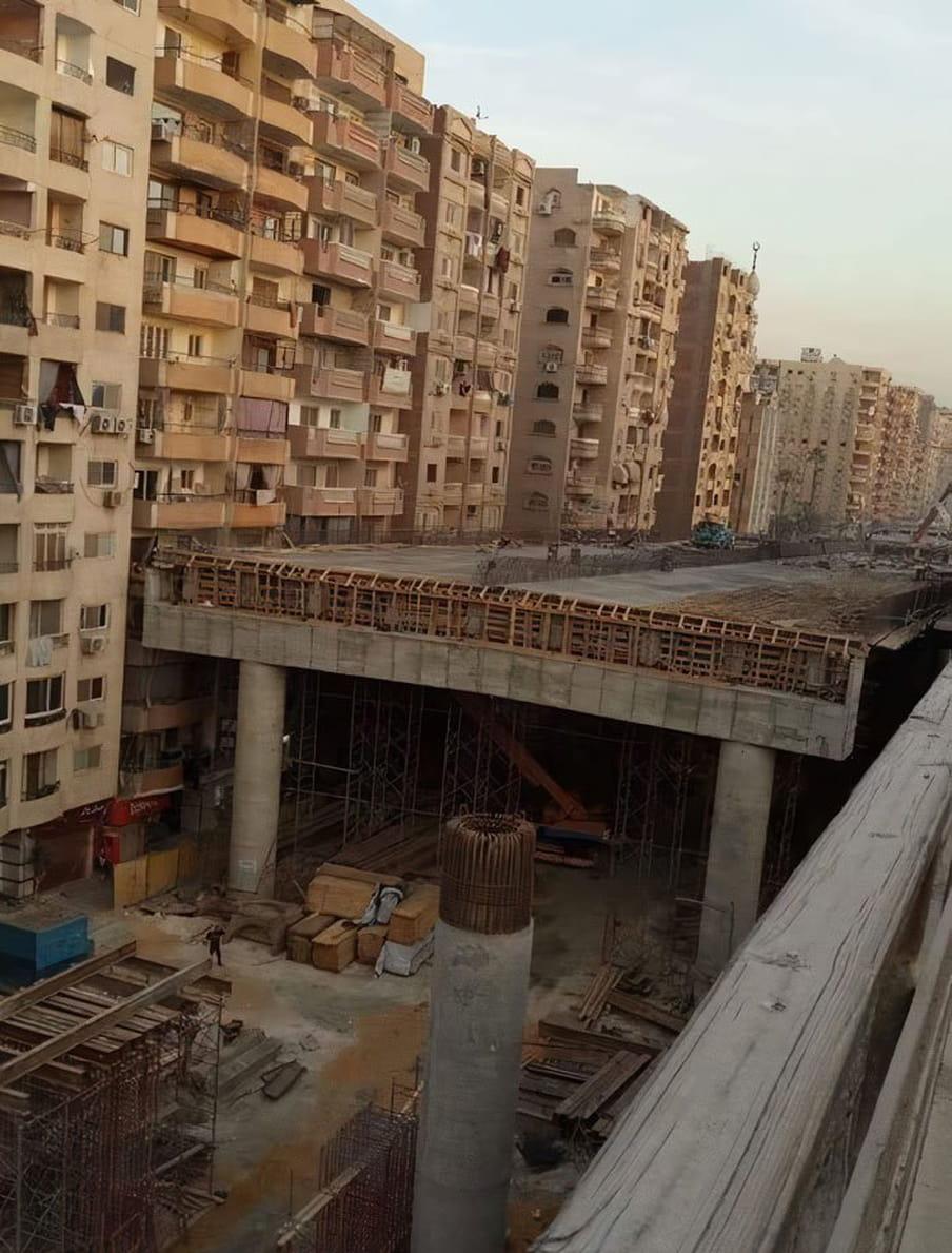 Cairo moet wijken voor een snelweg.