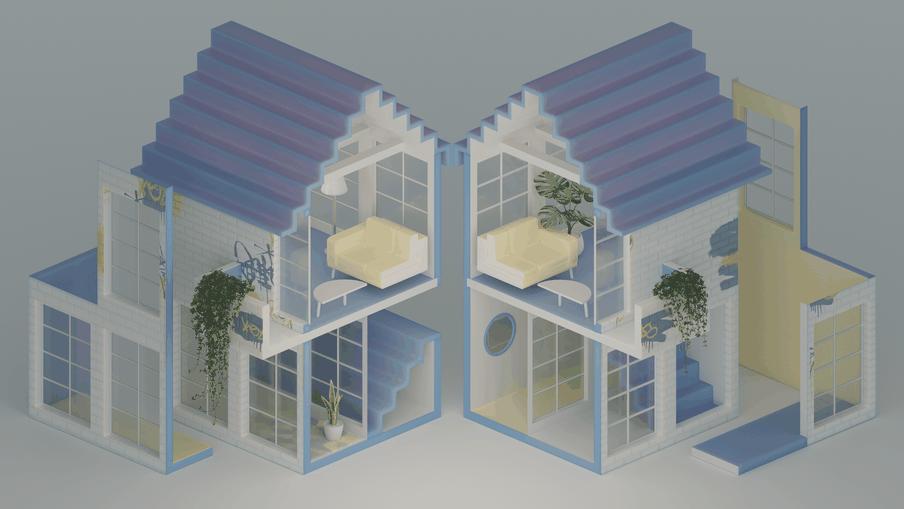 Illustratie bij mijn artikel over de verdeling van woonruimte