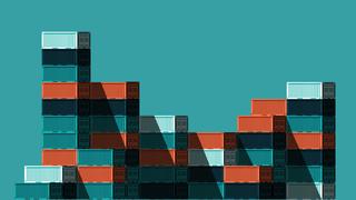 Illustratie van containers
