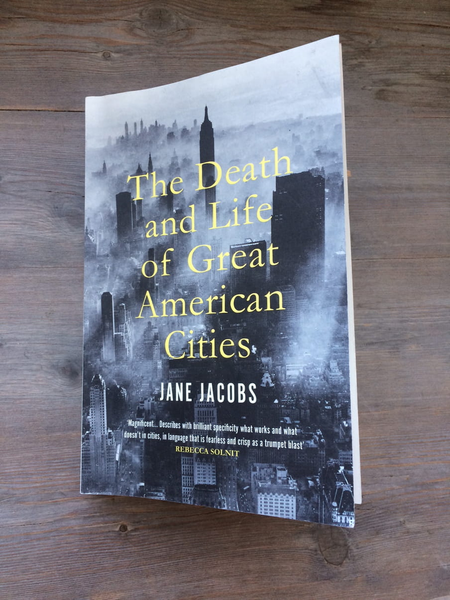 Foto van Jane jacobs, The Death and Life of Great American Cities