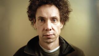 Portret van de Canadese schrijver Malcolm Gladwell.