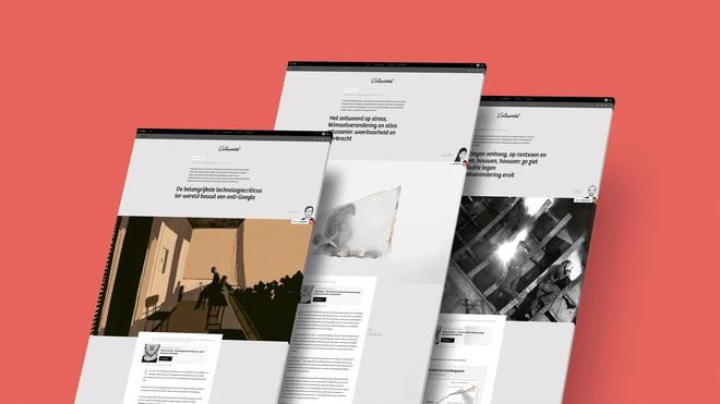 Schermafbeeldingen van drie stukken uit de top 11 van oktober 2019
