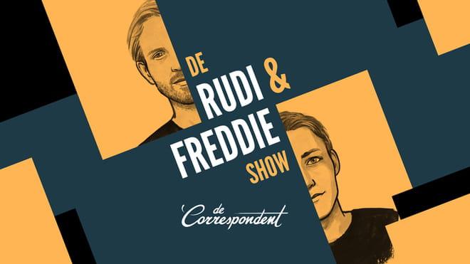 Het logo van de Rudi & Freddie Show.