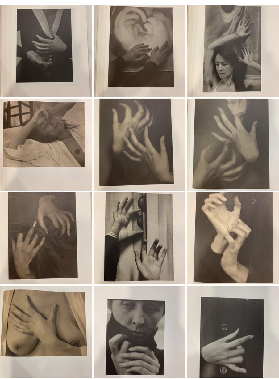 Pagina's uit het boek Georgia O'Keeffe: A Portait.