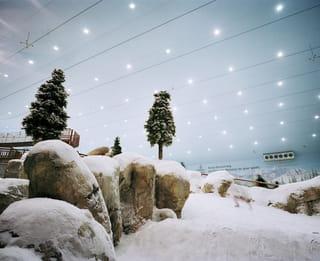 Hal met nepsneeuw
