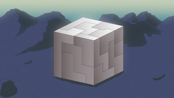 Illustratie van een blokpuzzel