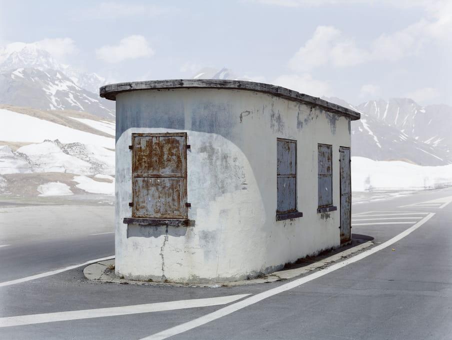 Frankrijk - Italie, Uit de serie 'Übergang' door Josef Schulz / Pictoright.
